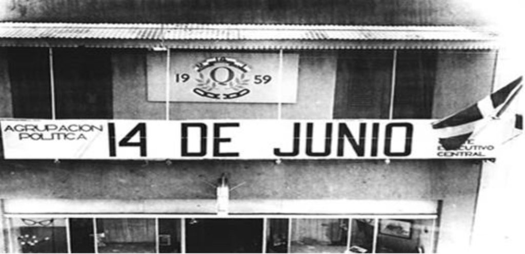 movimento revolucionario 14 de junho republica dominicana ditadura rafael trujillo