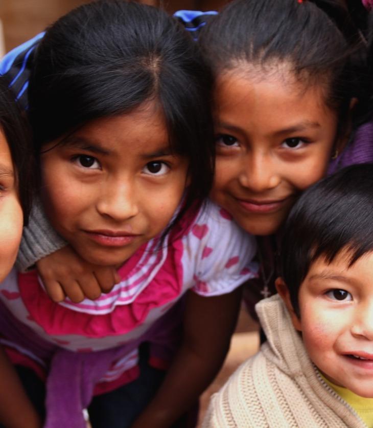 identidade-marrom indigenas america do sul argentina crianças